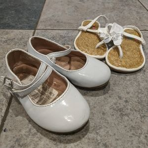Toddler White Shoes / Sandals